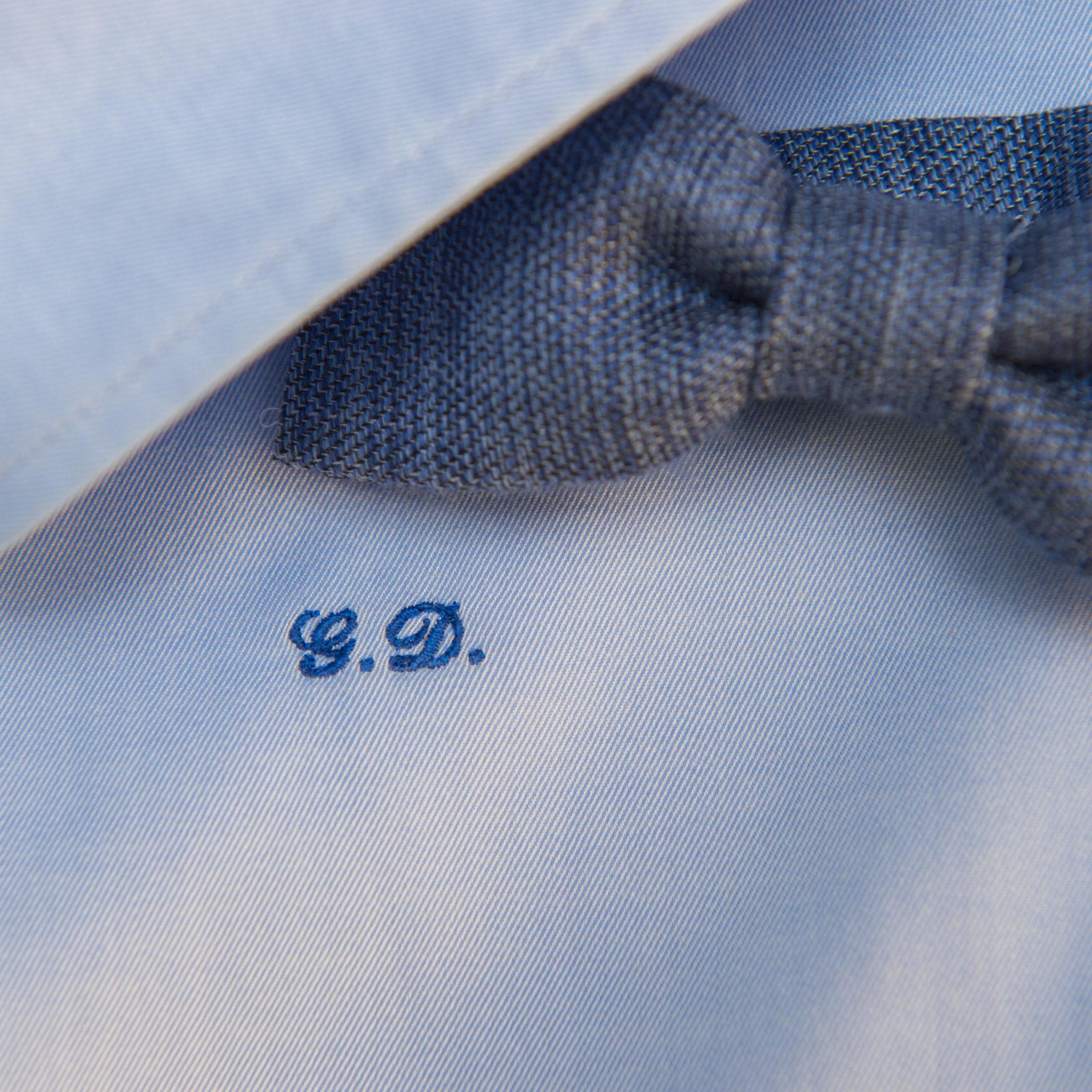 super popolare 54ae4 f69ba Iniziali camicie ricamate Milano - Ricamopersonalizzato.it ...