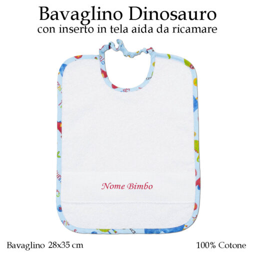 Bavaglino-dinosauro-579