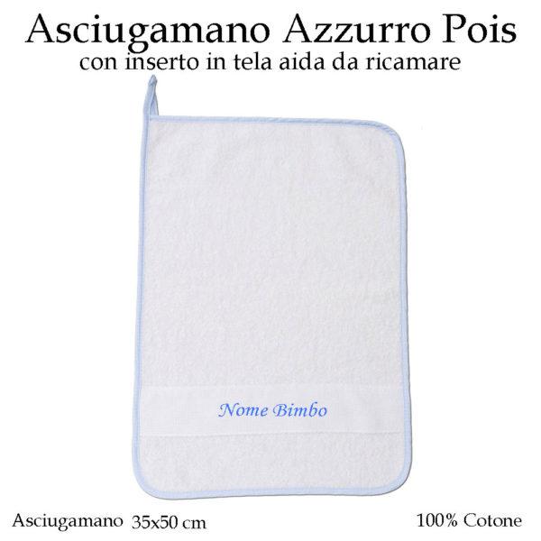 Asciugamano-asilo-nido-Azzurro-pois-605