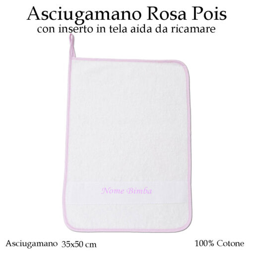 Asciugamano-asilo-nido-rosa-pois-604