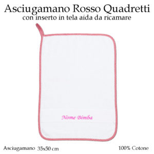 Asciugamano-asilo-nido-rosso-quadretti-AS02-01