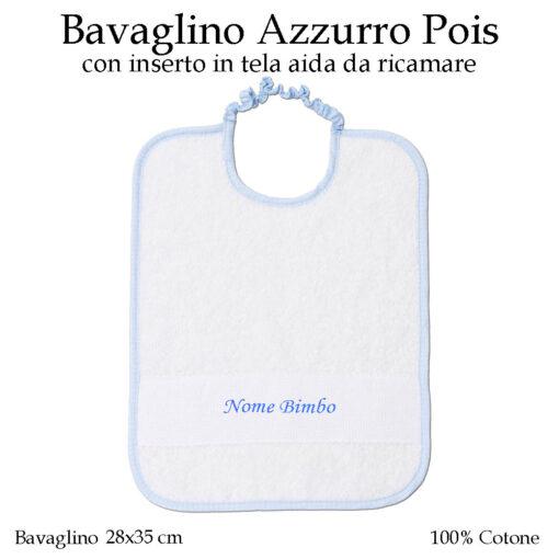Bavaglino-asilo-nido-Azzurro-pois-605
