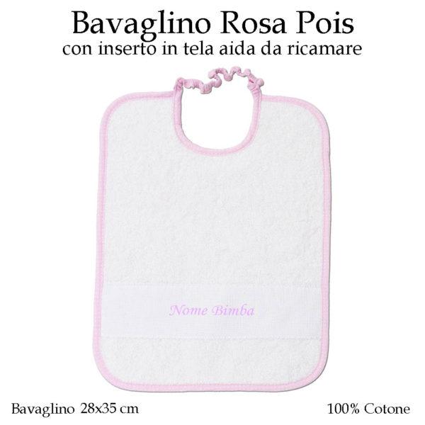Bavaglino-asilo-nido-rosa-pois-604