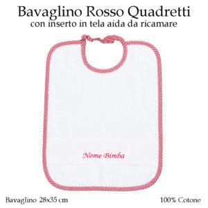 Bavaglino-asilo-nido-rosso-quadretti-AS02-01