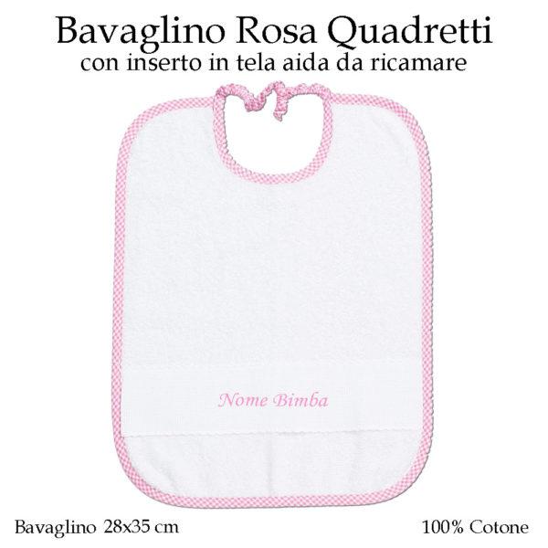 Bavaglino-con-elastico-asilo-nido-Rosa-quadretti-AS02-08