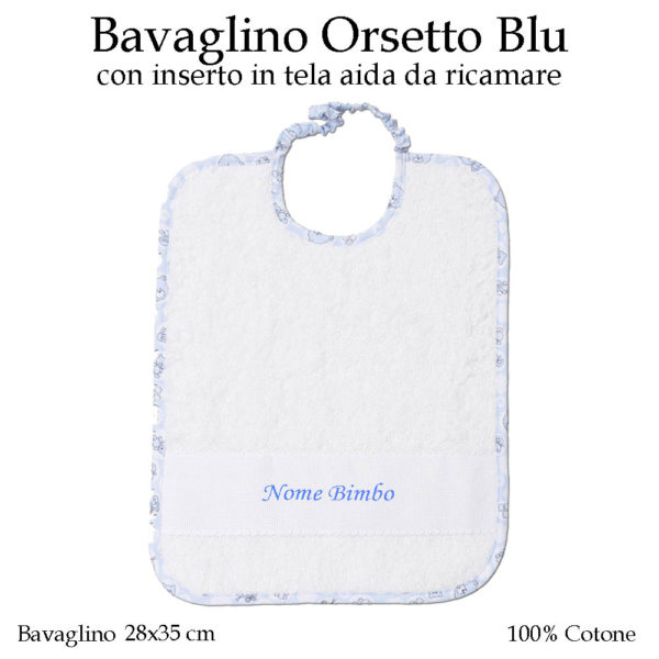 Bavaglino-con-nome-asilo-nido-orsetto-blu-602A