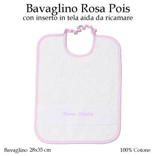 Bavaglino-personalizzato-asilo-nido-rosa-pois-604