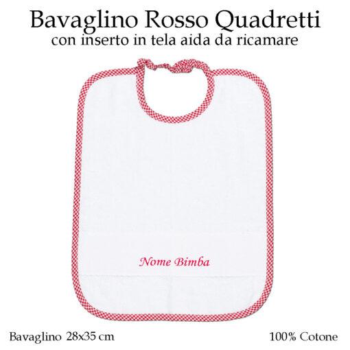Bavaglino-personalizzato-asilo-nido-rosso-quadretti-AS02-01