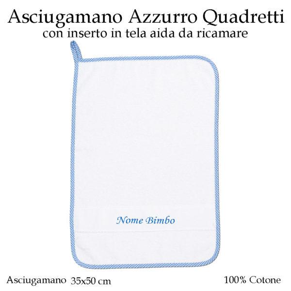 Set-asilo-Azzurro-Quadretti-AS02-09-componente-asciugamano