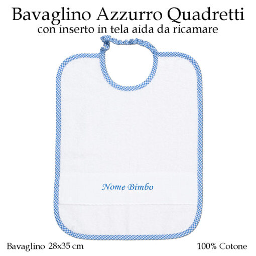 Set-asilo-Azzurro-Quadretti-AS02-09-componente-bavaglino