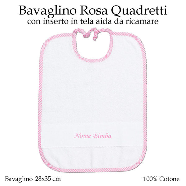 Set-asilo-Rosa-Quadretti-AS02-08-componente-bavaglino