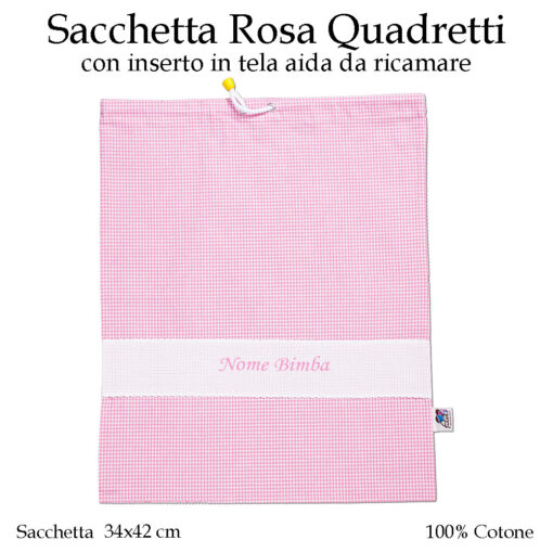 Set-asilo-Rosa-Quadretti-AS02-08-componente-sacchetta