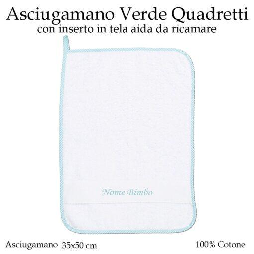 Set-asilo-Verde-Quadretti-AS02-03-componente-asciugamano