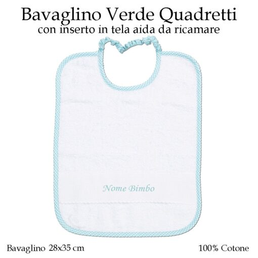 Set-asilo-Verde-Quadretti-AS02-03-componente-bavaglino
