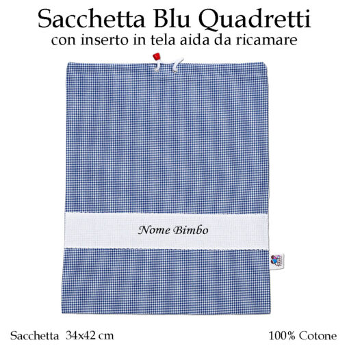 Set-asilo-blu-quadretti-AS02-07-componente-sacchetta