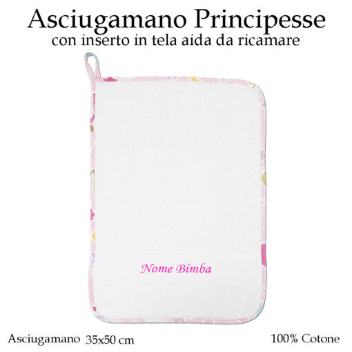 Set-asilo-principesse-593-componente-asciugamano