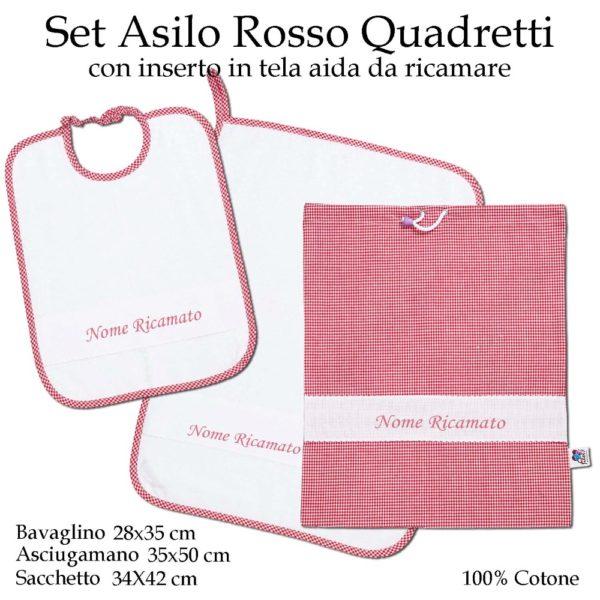 Set-asilo-rosso-quadretti-AS02-01