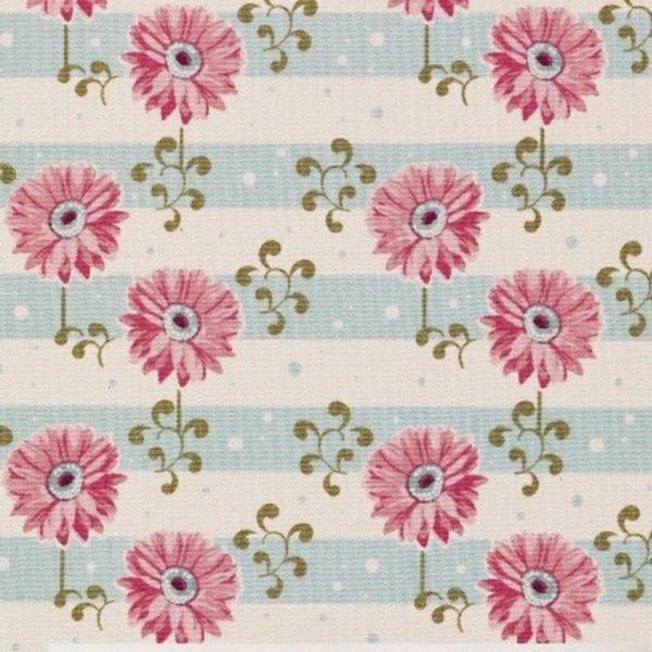 Mascherina-bambini-tessuto-lavabile-gerbera-pink