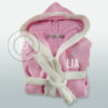 accappatoio-bambina-personalizzato-rosa-con-nome