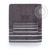 Asciugamano con iniziali alta qualità