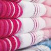 asciugamano con iniziali alta qualità vari colori
