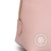 pochette donna personalizzata con iniziali dettaglio cerniera in metallo